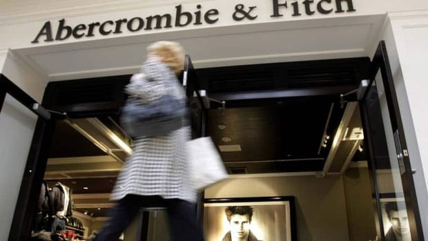 Women's sizes at Abercrombie & Fitch, which has four locations in Canada, stop at large, though men can get extra large and double extra large.