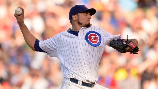 Matt Garza is 5-0 with a 1.24 ERA in his last six starts with th Cubs.