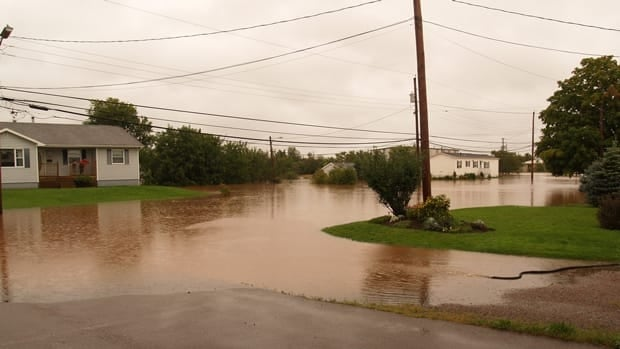 Heavy rains in September caused two rivers in the Truro area to overflow.