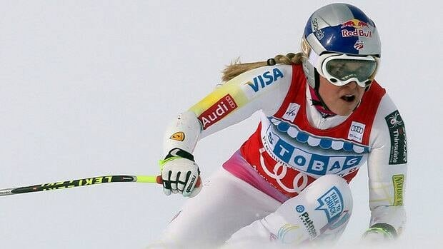American skier Lindsey Vonn has not raced since falling in the opening run of a giant slalom in Courchevel, France, on Dec. 16.