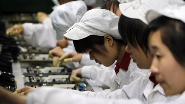 Taiwan's Foxconn is opening itself to more union activity at its Chinese factories.