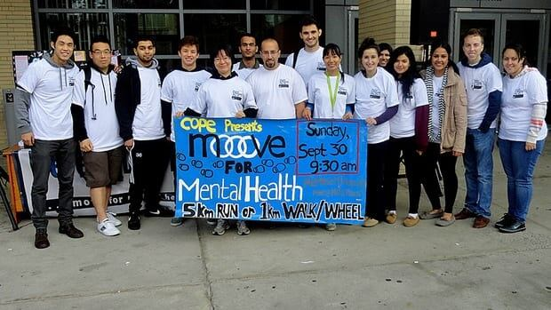About $1,700 was raised for mental health awareness and treatment at McMaster on Sunday.
