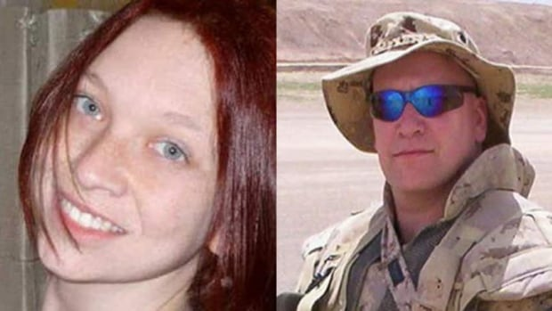 The body of 28-year-old Melissa Richmond, left, was found in a ditch near the South Keys Shopping Centre on July 28, 2013, just days after she was reported missing by her husband, 52-year-old Howard Richmond.