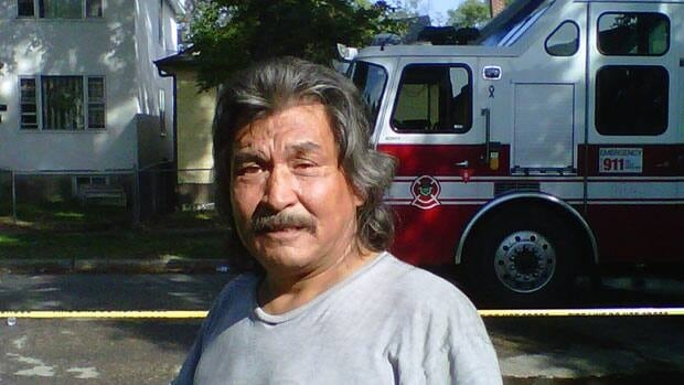 Gilbert Pronteau was able to pull two people to safety during a house fire on Home Street.