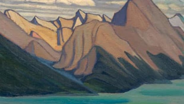 The Lawren Harris work Mt Sampson Maligne Lake Mountain Sketch CVI was one of the highlights of the Joyner Waddington spring auction of Canadian art, selling for $212,400 in Toronto on Monday.