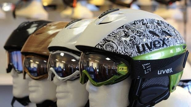 When purchasing a helmet, consumers should ensure that it fits comfortably, it meets established safety standards, and it will provide the right kind of protection for the kinds of sporting activities they will be using it for.