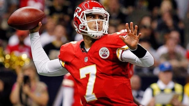 Doctors have not cleared Kansas City quarterback Matt Cassel after sustained a concussion during a loss against the Baltimore Ravens last Sunday.