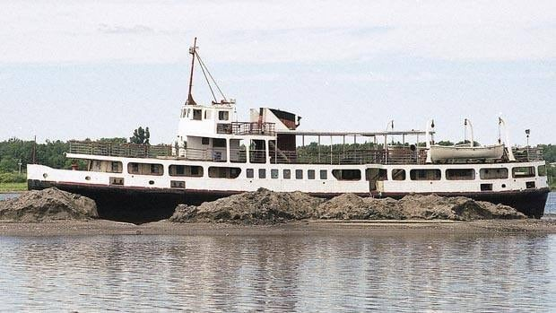 The Canima was stuck in Shediac Bay until 2002 when it was towed to Miramichi.