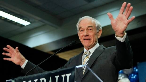 Backers of Texas congressman Ron Paul, seen campaigning in February, walked away with 21 delegates during Maine's Republican convention on the weekend. The victory suggests some Republicans are still hoping for anyone but front-runner Mitt Romney. AP file photo