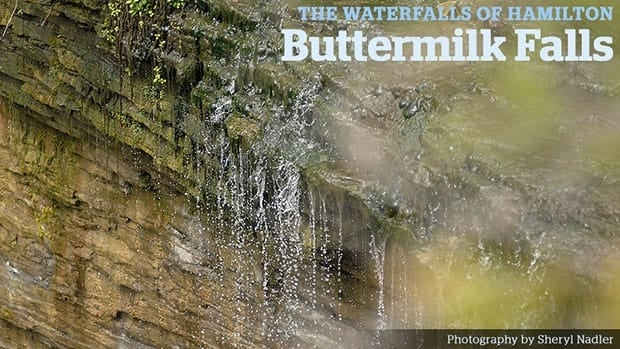 Hamilton's Buttermilk Falls