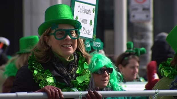 Green is always the colour of choice for Ottawa's annual St. Patrick's Day parade.