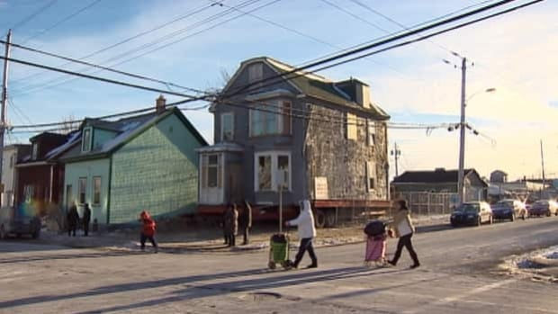 The 249-year-old Morris House now sits at the corner of Charles and Creighton streets in north-end Halifax.
