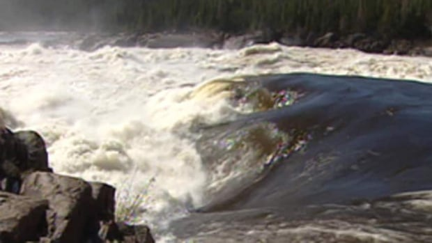 Muskrat Falls, the site of the N.L.'s government's proposed hydroelectric project.