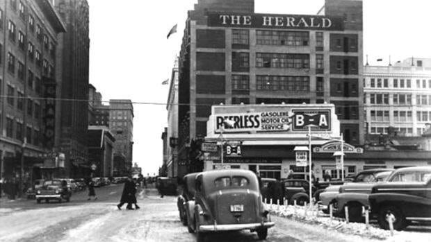 Located at Seventh Avenue and First Street southwest, the Herald Building was once the longtime home of the Calgary Herald newspaper.
