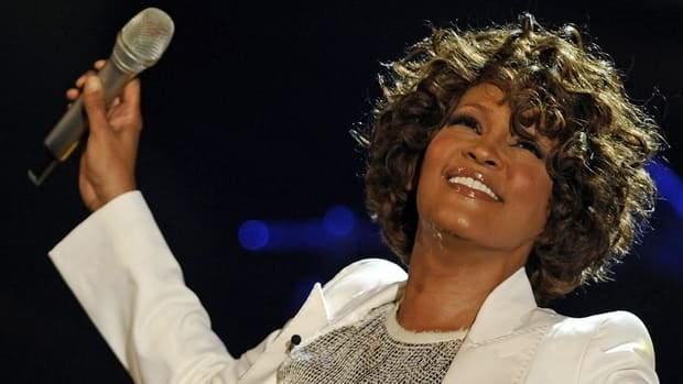 Pop singer Whitney Houston, shown performing in 2009, has died at the age of 48.