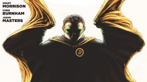 A detail of the cover of the new issue of Batman Incorporated, in which Robin the Boy Wonder is expected to be killed off.