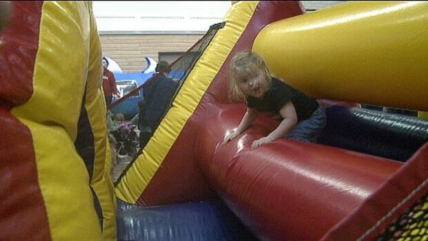 While the weather shut down most outdoor events at Charlottetown's Winter Fun Fest, there was still lots of fun to be had inside.