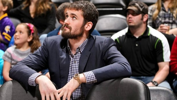 Minnesota Timberwolves forward Kevin Love averaged 18.3 points and 14 rebounds this season.
