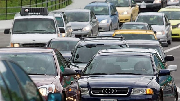 According to the report, residents of Metro Vancouver spend 74 minutes commuting each day. (CBC)