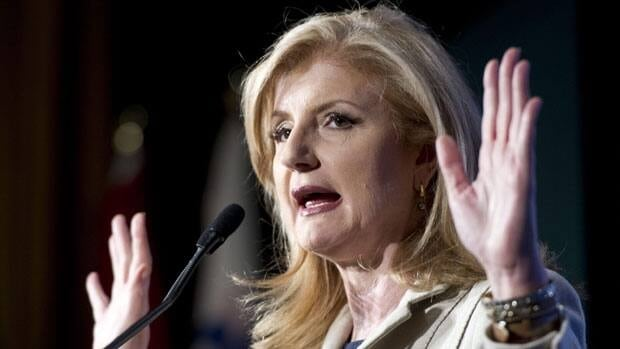 Huffington Post creator Arianna Huffington and member of The B Team says the pursuit of short-term profit at the exclusion of everything else isn't working for anyone.