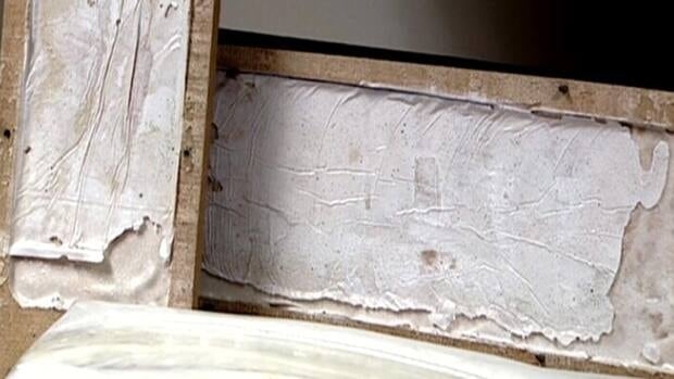 The cocaine was hidden in hollowed out pallet boards.