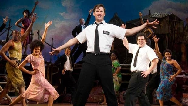 The Book of Mormon won four prizes at London's Oliviers awards, including best new musical and best actor in a musical, for Gavin Creel.