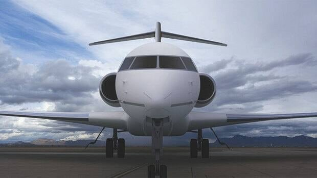 Aerolia's new fuselage assembly plant at Mirabel will supply parts for Bombardier business jets like the Gulf 7000, above.