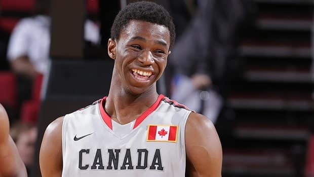 Andrew Wiggins, seen playing for the World Select team last moth in an all-star game in Portland, racked up a host of accolades in his final high school season.