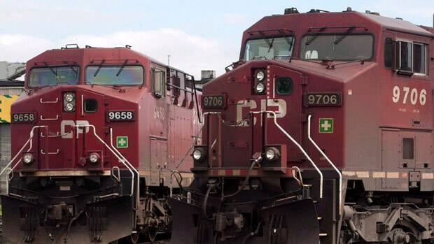 Canadian Pacific Railway workers have been off the job since last Wednesday. Talks went off the rails last Sunday afternoon after the two sides could not agree on pension issues, among other things, and the federal negotiator left.