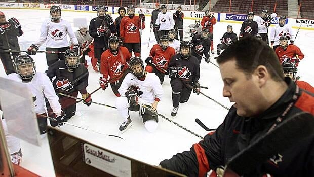 Head coach Dan Church will decide on Canada's Olympic roster in Sochi from a group of 27 players.