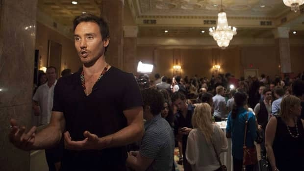 Sharkwater filmmaker Rob Stewart is shown in August as TIFF announces its program will include his Revolution.
