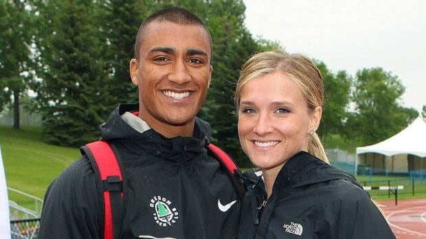 Ashton Eaton and Brianne Theisen are set to get married Saturday, in Eugene, Ore. The two met as teenagers at the University of Oregon.