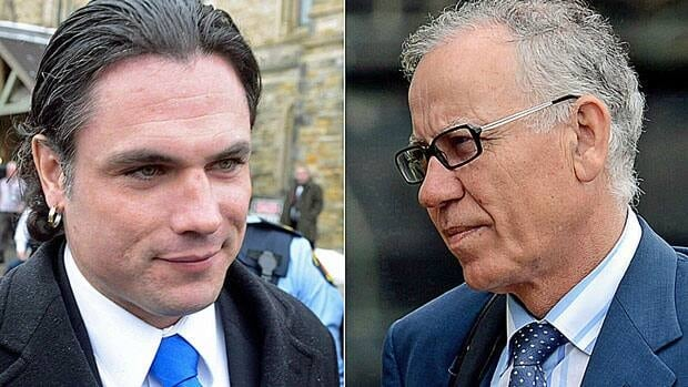 A Senate committee has given senators Patrick Brazeau, left, and Mac Harb 30 days to repay tens of thousands of dollars for what it calls improper expense claims. An audit into Senator Pamela Wallin's expenses is expected in late July.