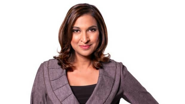 Nirmala Naidoo has hosted CBC News Calgary's supper-hour TV show since June 2009.