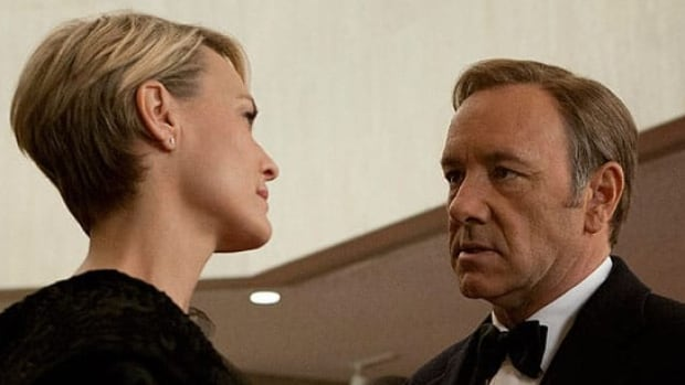 In producing original series such as House of Cards, starring Robin Wright Penn and Kevin Spacey, Netflix has positioned itself as a competitor to HBO, analysts say.