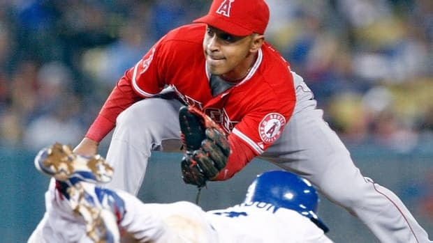 Former Angels second baseman Maicer Izturis, who has signed a three-year free-agent contract with the Blue Jays, can play second, third and shortstop.
