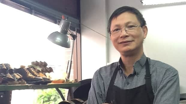 Dang Nguyen is closing down his cobbler shop in Westboro after a decade in business. Hallie Cotnam/CBC