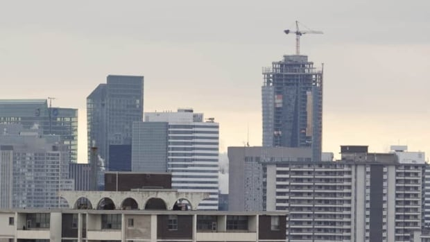 The average value of a downtown Toronto condo declined 1.8 per cent to $342,847 last year.