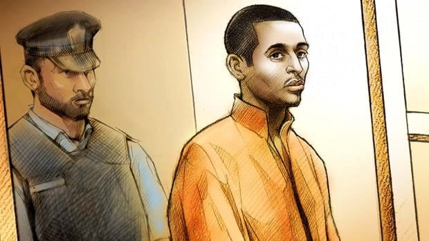 Mohamed Adam Bharwani is charged with first-degree murder. He appeared in a Toronto court on Sunday.