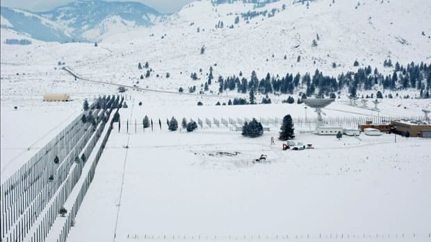 Ground excavation started this week for the new CHIME radio telescope in Penticton, B.C.