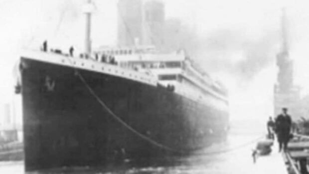 The International Ice Patrol was established after the Titanic struck an iceberg and sank in the Atlantic Ocean in April 1912.