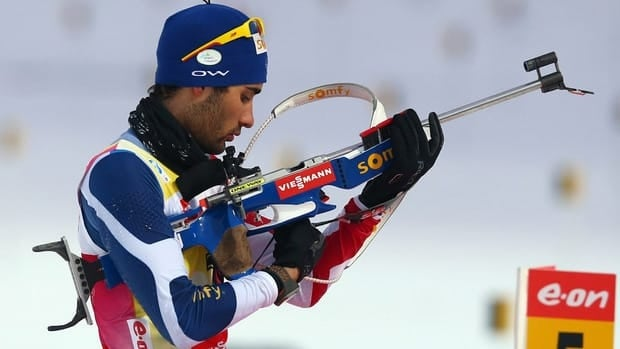 Martin Fourcade missed just one target in Thursday's victory.