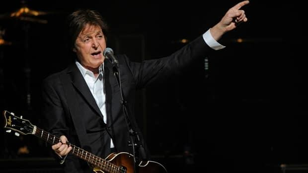 Paul McCartney, seen here in concert in New York in 2010, is writing his first orchestral score for the New York City Ballet.