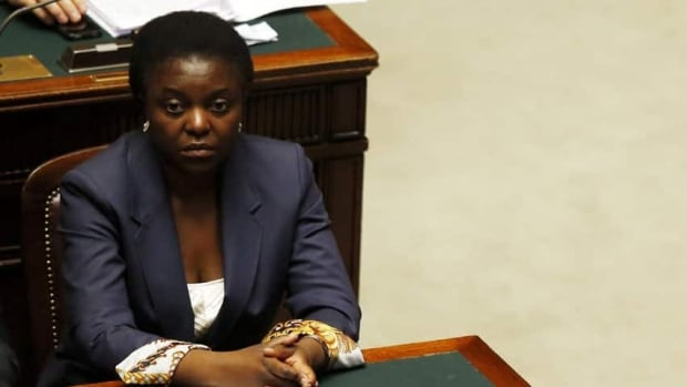 Italian cabinet minister Cecile Kyenge has faced racial epithets from neo-fascist websites and from a right-wing opposition party.