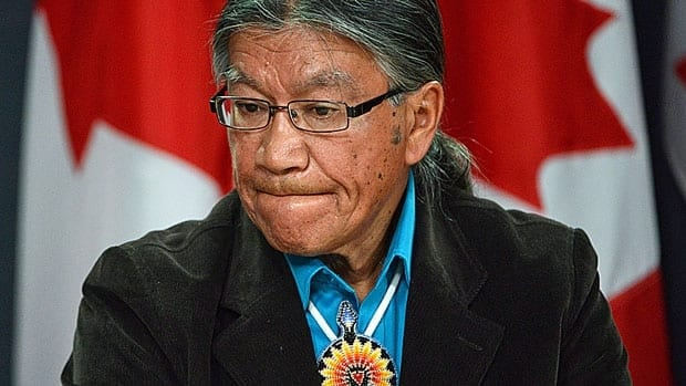 Abused victims advocate Edmund Metatawabin was among those calling for justice for St. Anne's Residential School survivors during a press conference in Ottawa Monday.
