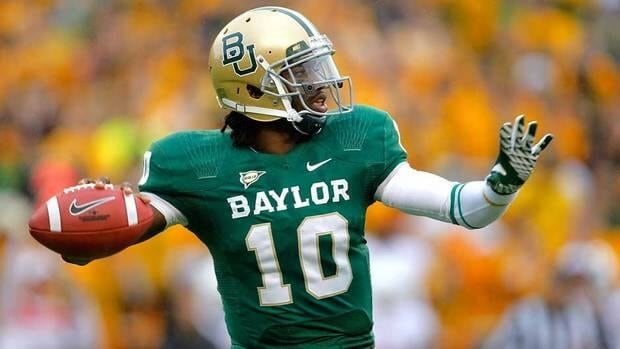 Robert Griffin III of the Baylor Bears is expected to be drafted with one of the top two selections in April's NFL draft.