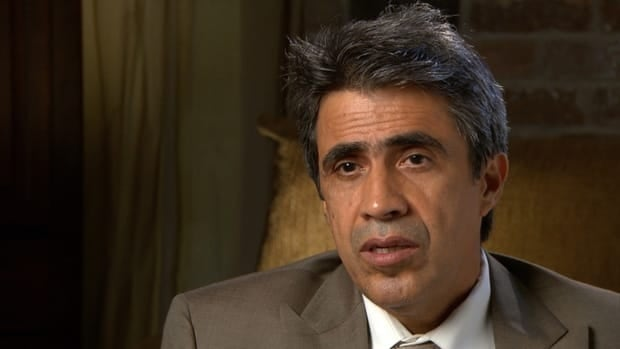 American electrical engineer Cris Castro, who was hiding among a large group of Algerian hostages, says he was struck by how calm Katsiroubas seemed during the attack.