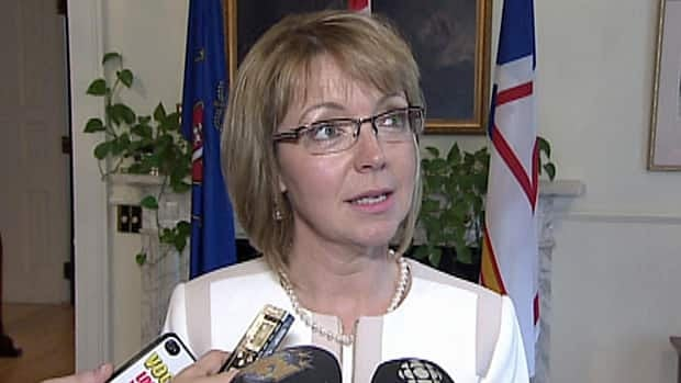 Lisa Dempster was sworn in as the MHA for Cartwright-L'Anse au Clair on Thursday.