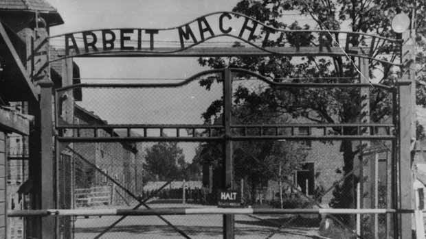 The main gate of the Nazi concentration camp Auschwitz in Poland. An 89-year-old Philadelphia man faces possible extradition to Germany on charges he aided in the killing of 216,000 Jewish men, women and children at the Nazi death camp