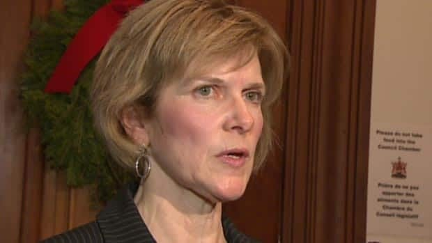 Auditor General Kim MacPherson spoke to reporters on Tuesday about her latest report.